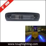 """12V 24V imprägniern 6 """" rote Gabelstapler-Sicherheits-Lichter der 18W Gefahrenzone-LED"""