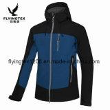 Les hommes de plein air Polaire Softshell vestes imperméables au vent respirant Manteau de ski