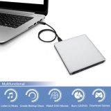USB3.0 внешний дисковод компакт-дисков DVD проигрыватель дисков для Mac/ноутбук/ПК (черный)