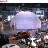 Grande tenda libera della cupola geodetica per l'evento