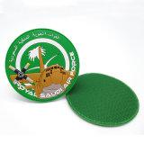 prix d'usine personnalisé 2D/3D'étiquette de vêtements de caoutchouc PVC Patch avec Velcro (PT22)