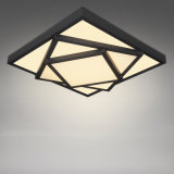 Simple acrílico moderno Popular LED lámpara de techo