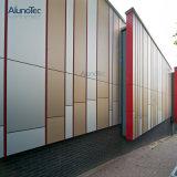 Neuer Entwurf passen Aluminiumzwischenwand für Garten an