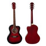 China-Fabrik-bester Preis-akustische bunte Gitarre für Kursteilnehmer