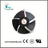 ventilatore assiale di raffreddamento senza spazzola H del ventilatore di CC del cuscinetto a sfere di 105mm 5V 12V 18V due piccolo