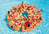 Pizza piscine gonflable jouets flottants pour adulte