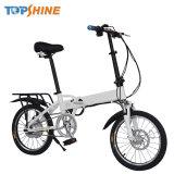 Arranque sin llave Smart bicicleta eléctrica plegable de 18 pulg.