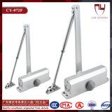 Hardware di alluminio registrabile del portello; Chiudiporta automatico idraulico/molla di vetro del pavimento del portello