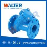 El hierro dúctil/válvula de retención de bola de hierro fundido para sistema de suministro de agua