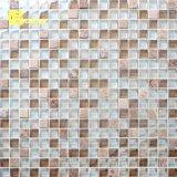 Hotsale 2018 populares azulejos de mosaico de mármol en la malla en la fábrica.