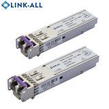 El modo SINGLE 1.25Gb/s de 100 ~ 120km de fibra óptica el transceptor SFP