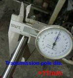 2 ciclo de 65cc gran Heavy Duty Tree-Cutting Caja de engranajes de la cortadora de césped de la segadora de pincel barbero del cortador de césped