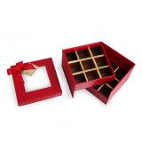 Dom papel produtos de chocolate Assista a caixa de armazenagem de embalagens do tirante da correia