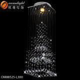 Lampada di vetro Pendant dello schermo di lampada del ristorante moderno del LED con l'hotel, il ristorante o la famiglia