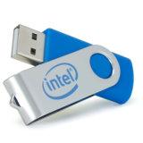 Azionamento dell'istantaneo del USB della parte girevole del metallo con il marchio personalizzato del laser