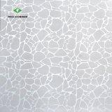 Aluminium Métal suspendu au plafond en verre dépoli pour la décoration