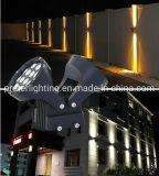 12W 24W LED de alumínio candeeiro de parede com Novo Design PI65 à prova de água para utilização no exterior