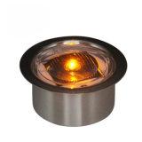 Super Bright Visible de 360 degrés en aluminium étanche solaire goujon de la route pour la sécurité routière de l'équipement