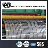Bobinas de acero de silicio de la máquina de corte longitudinal de la máquina de corte