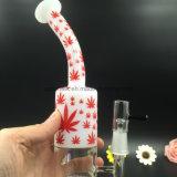 Plataforma de tubos de vidro soprado a mão para fumar