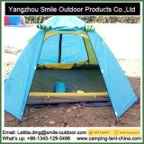 Barraca de acampamento de pouco peso impressa da porta dobro de projeto moderno