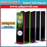 Señalización comercial de Digitaces de la visualización del LCD - señalización de la visualización del LCD y de LED