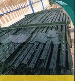 Postes de T cloutés par métal américain avec le poste de barre de Spade/1.33lb T