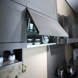 Gabinetes de cozinha luxuosos da madeira contínua de Welbom