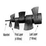 コンクリートバイブレーターのための6ミリメートル柔軟な内側シャフト