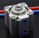 Cilindro neumático compacto