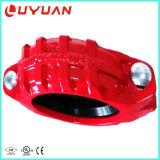 Réducteur à rainure en fer ductile de haute qualité Couplage flexible pour système de lutte contre l'incendie