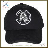 Cappello nero su ordinazione della protezione della maglia del camionista della zona del ricamo