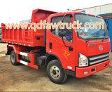 Camion à benne basculante de Faw 5ton de camion à benne basculante du camion léger 4X2 de Faw