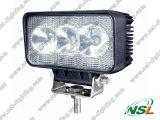 9W à LED pour le travail de la lampe de feu de travail 10-30V off road tracteur phare de travail à LED