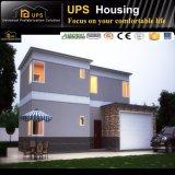 아파트 3개의 층은 Windows와 문을%s 가진 조립식 집을 디자인했다