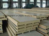 PU-Zwischenlage-Panel für Stahlkonstruktion-Lager-/Werkstatt-Gebäude