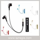 en el ruido sin manos del oído que cancela el auricular estéreo sin hilos de Bluetooth Earbud