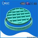 En124 B125 BMCの販売のための合成の緑の円のマンホールカバー