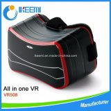 1개의 3D Vr 유리 헤드폰에서 제품을 Vr 전부 기울기