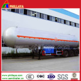 Acier inoxydable / Acier au carbone / Alloy Alumimun En option 3 Essieux Tanker Container Oil Water Fuel Carrier Tanker Semi-remorque Truck
