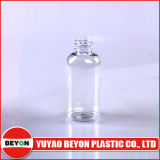 SGS Certification (ZY01-A002A)との50ml Plastic Pet Oval Transparent Cosmetic Bottle
