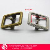 Boucles faites sur commande en métal de GV Oeb pour des chaussures de courroie de sac à dos de sac à main de sac