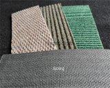 非編まれた肋骨展覧会のカーペット、乳液の裏付けが付いているベロアのカーペット