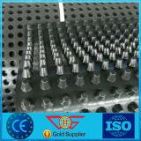 placa grossa da drenagem do HDPE do peso de grama 1100g de 8mm