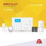 Sistema de alarma doble sin hilos de la seguridad casera de la red
