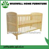 Moder Style Lit de bébé en bois de pin