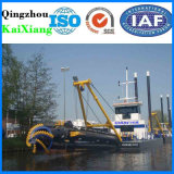 China-hydraulischer Sand-ausbaggernde Maschine für das Kanal-Ausbaggern