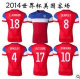 Coupe du Monde 2014 American Road Jersey Football Shirt/Soccer Jersey
