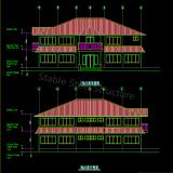Adminのオフィスビルのためのプレハブの安いプレハブの家