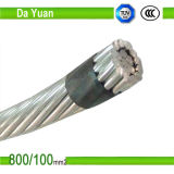 Al / XLPE avec AAAC ou ACSR Neutral Service Drop Duplex ABC Cable